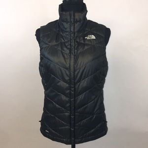 The North Face down vest.  Size small.